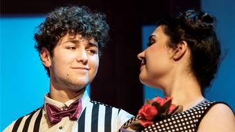 Der einheimische Gelsomino Romer (Kellner Piccolo) soll mit Julia Siegwart (Hotelangestellte Resi) vermehrt junges Publikum für die Operette begeistern.peter Siegrist
