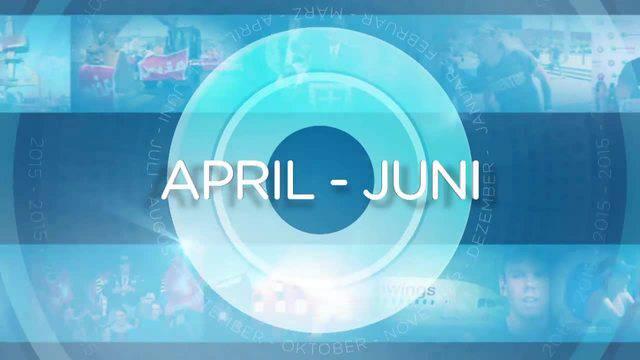 Jahresrückblick: Apr - Juni