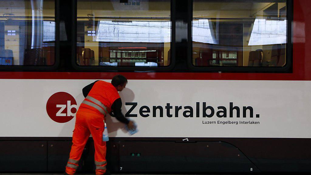 Auch die Zentralbahn AG verzeichnet einen Passagierrückgang während der Corona-Krise. (Archivbild)