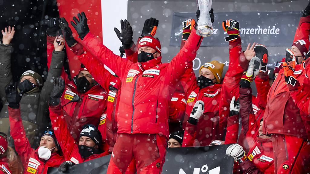 Die Schweiz ist zum zweiten Mal in Folge die Nummer 1 im Alpin-Bereich
