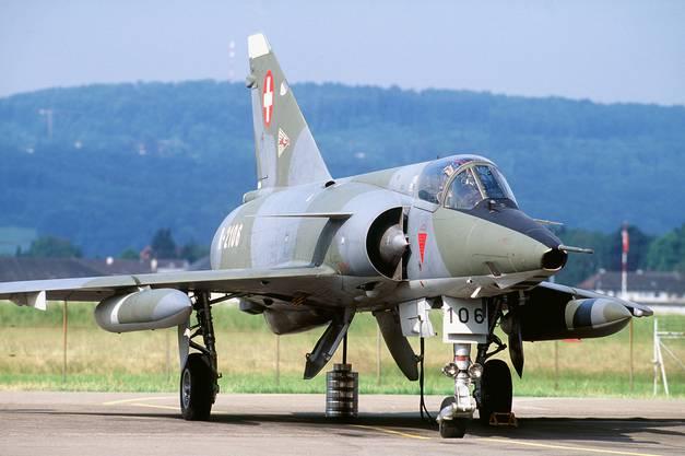 Einst der Stolz der Schweizer Luftwaffe: Die Mirage.