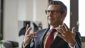 «Wir verzichten weitgehend auf Hierarchien»: John Häfelfinger ist seit 2017 Chef der Basellandschaftlichen Kantonalbank.