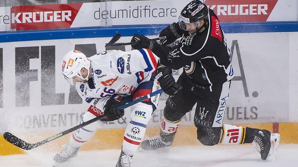 Lugano dreht das Spiel gegen Leader ZSC
