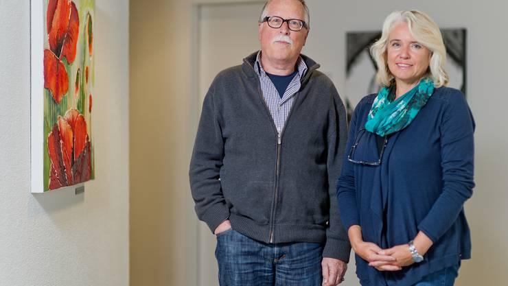 Der ehemalige Geschäftsleiter mit Sonja Graber, seiner Nachfolgerin. «Sie braucht keine Ratschläge», sagt er. Freudiger