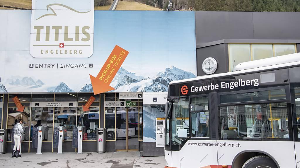 Trotz Schweizer Gästeboom fehlen am Titlis 70 Prozent der Touristen