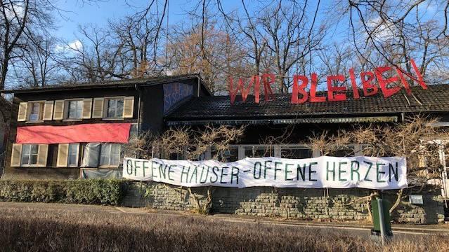 Das besetzte Haus im Eichwäldli in Luzern könnte ein Fall fürs Kantonsgericht werden.