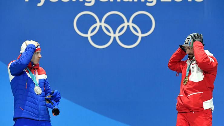 """Die Schweiz ist Sitz von Fifa, UEFA und IOC - das hat Auswirkungen auf das Wirtschaftswachstum. 2018 war der """"Sport-Effekt"""" unter anderem mit den olympischen Winterspielen in Korea besonders ausgeprägt. (Archivbild)"""