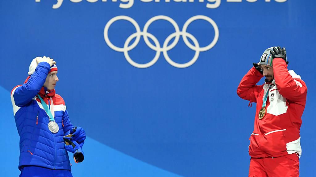 Die Schweiz ist Sitz von Fifa, UEFA und IOC - das hat Auswirkungen auf das Wirtschaftswachstum. 2018 war der «Sport-Effekt» unter anderem mit den olympischen Winterspielen in Korea besonders ausgeprägt. (Archivbild)