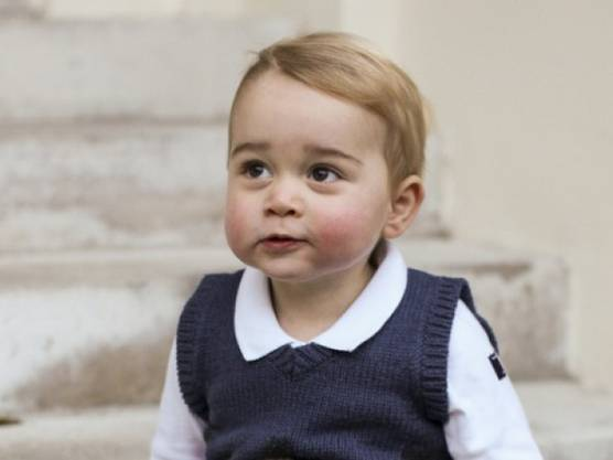 Prinz George im November 2014.