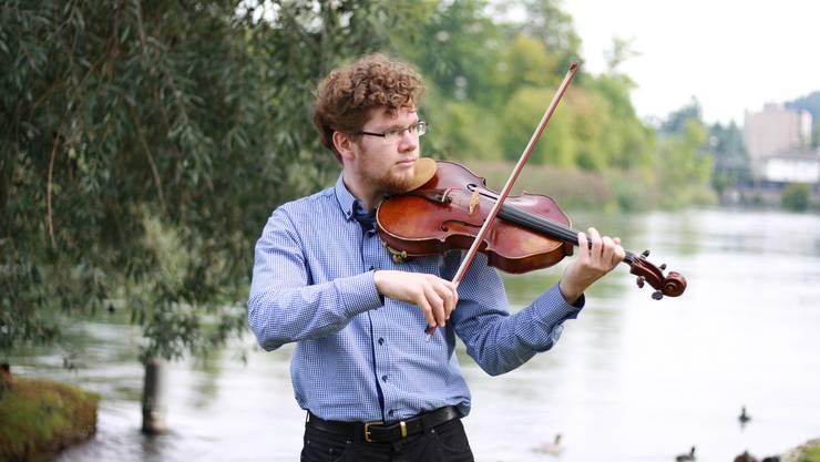 Für ein Privatkonzert und einen Besuch bei seinen Grosseltern schaute Samuel Mittag erst kürzlich wieder einmal in Dietikon vorbei.
