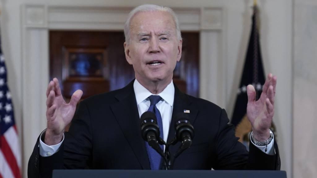 Biden verspricht Israel Unterstützung für Abwehrsystem