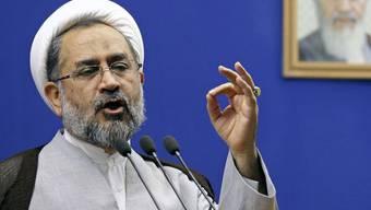 Irans Geheimdienstminister Heidar Moslehi