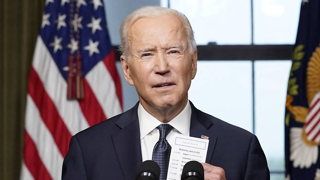 Biden: «Haben bin Laden bis zu den Toren der Hölle verfolgt»