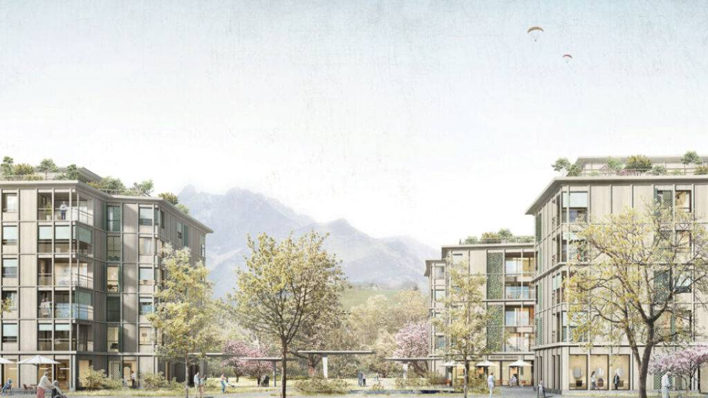 Zwei Neubauten sollen Krienser Altersheim Grossfeld ersetzen