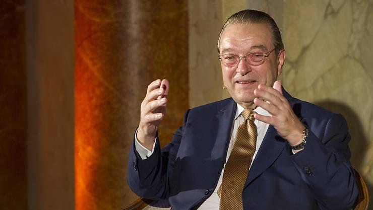 Oswald Grübel verfolgt die Börsen täglich sehr aufmerksam.