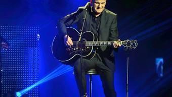 Auf der Bühne kommt sein Selbstvertrauen zurück: Bluesmusiker Philipp Fankhauser (Archivbild)