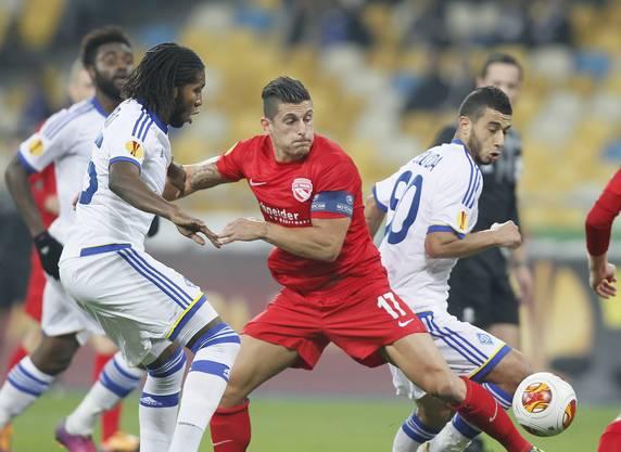 Thun verliert gegen Dynamo Kiew