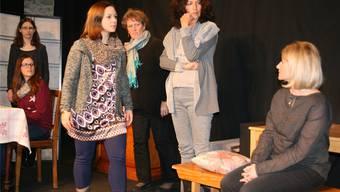 Das Theater Wiwa mit seiner neuen Produktion «Acht Frauen». Peter Schütz