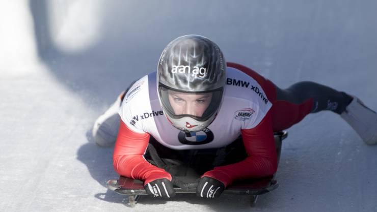 Marina Gilardoni zeigt sich beim Weltcup in La Plagne in guter Form