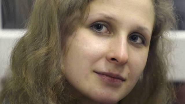 Die inhaftierte Maria Aljochina (Archiv)