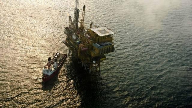 Quelle der Ölpest: Ölbohrplattform in der Bohai-Bucht (Archiv)