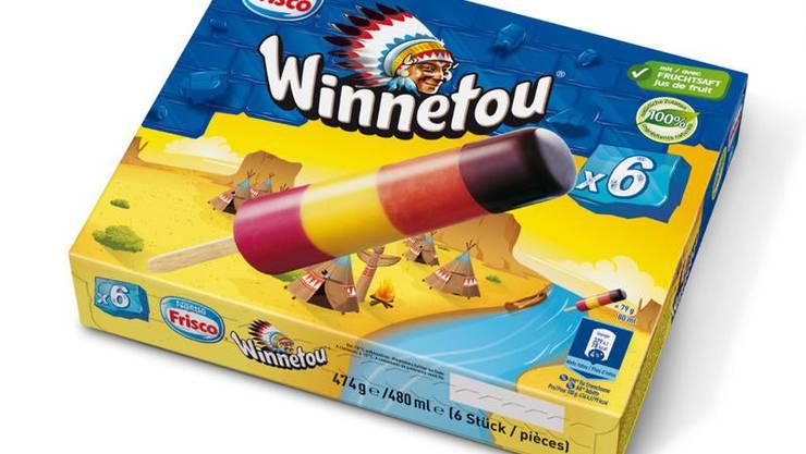 Beliebt wegen ihres Geschmacks: die farbige Winnetou-Glace.