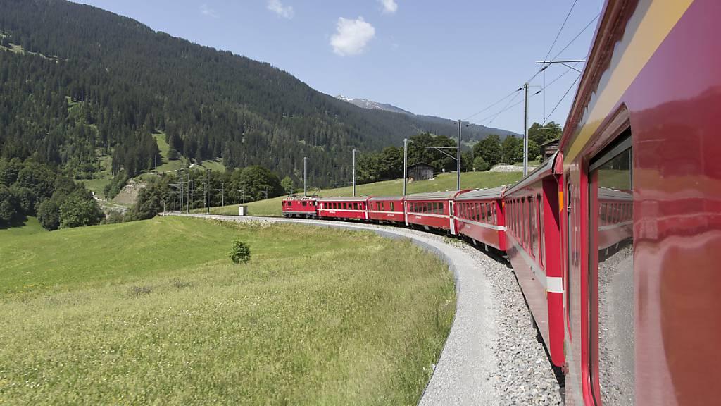 Rhb-Strecke ins Prättigau zwei Tage lang unterbrochen