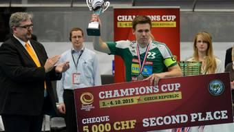 Wiler-Ersigen konnte im Final des Champions Cup dem schwedischen Meister Falun die Stirn bieten.