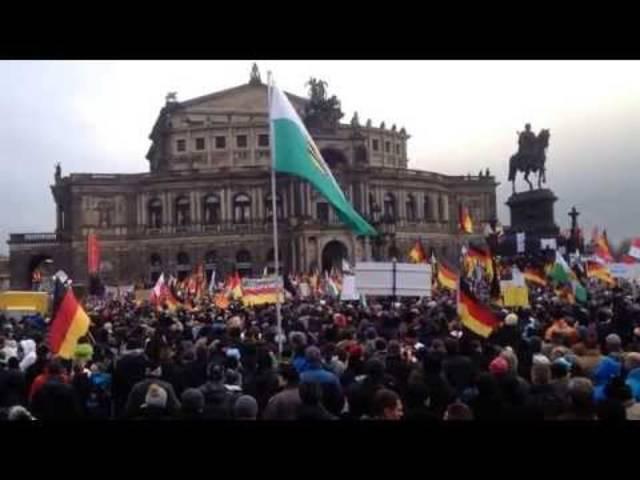 Pegida und No-Pegida: Erneut Demonstrationen in Dresden