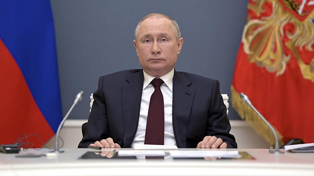 Wladimir Putin, Präsident von Russland. Foto: Alexei Druzhinin/Pool Sputnik Kremlin/AP/dpa