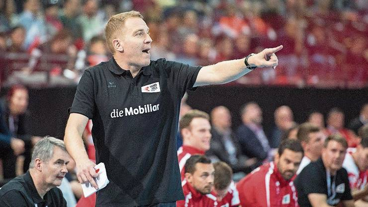 Warnt sein Team vor «heissen» Belgiern: Nationalcoach Michael Suter.