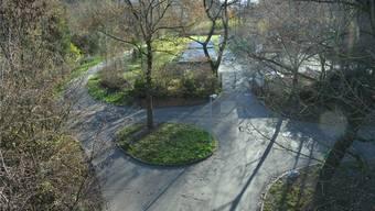 Hier könnte der Basler Zoo ausbauen: Die Schutzmatte unterhalb des Dorenbach-Viadukts.