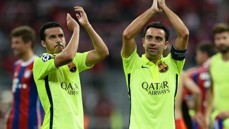 Havi Hernandez (rechts) gewann mit Barcelona acht Meistertitel