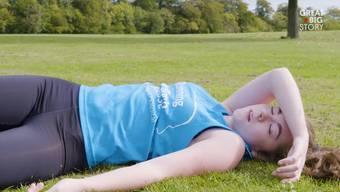 Katie Cooke läuft und läuft – von ihrer Epilepsie lässt sie sich nicht abhalten.