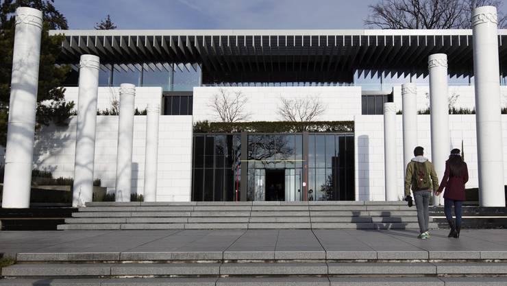 Das olympische Museum in Lausanne hat wiedereröffnet