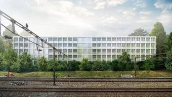 Der Kantonsrat hat am Montag das Geld für Um- und Neubau der Bezirksanlage Winterthur genehmigt. Im Bild die Visualisierung des geplanten Neubaus.