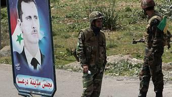 Die Regierung Assad lässt Proteste niederschlagen