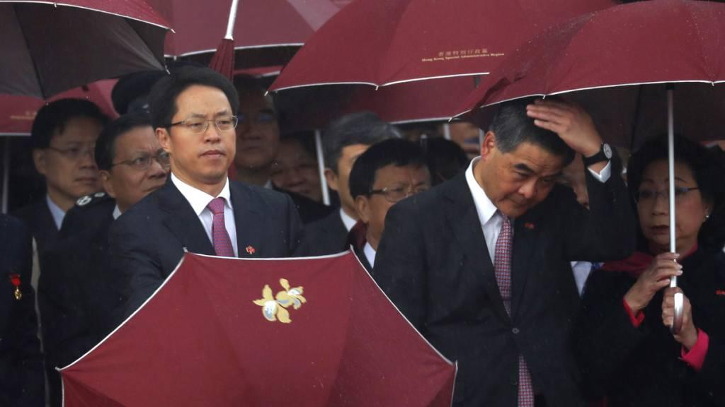 China setzt für Hongkong zuständigen Spitzenfunktionär ab