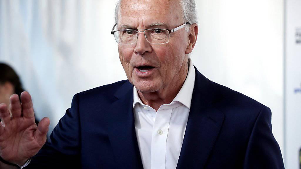 Verfahren gegen Beckenbauer soll eingestellt werden