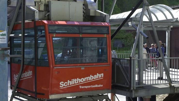 Technischer Defekt bei der Schilthornbahn (Archiv)