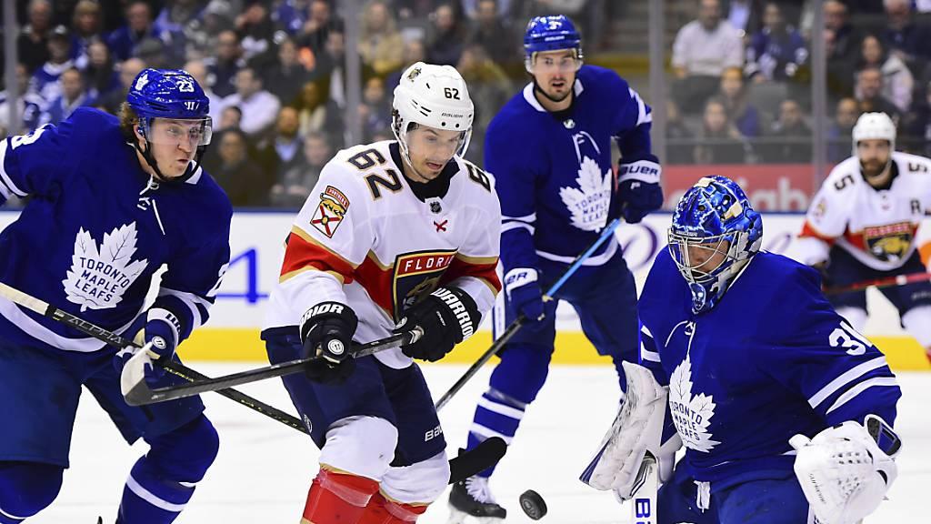 Erfolgreicher Einstand für Denis Malgin bei den Maple Leafs