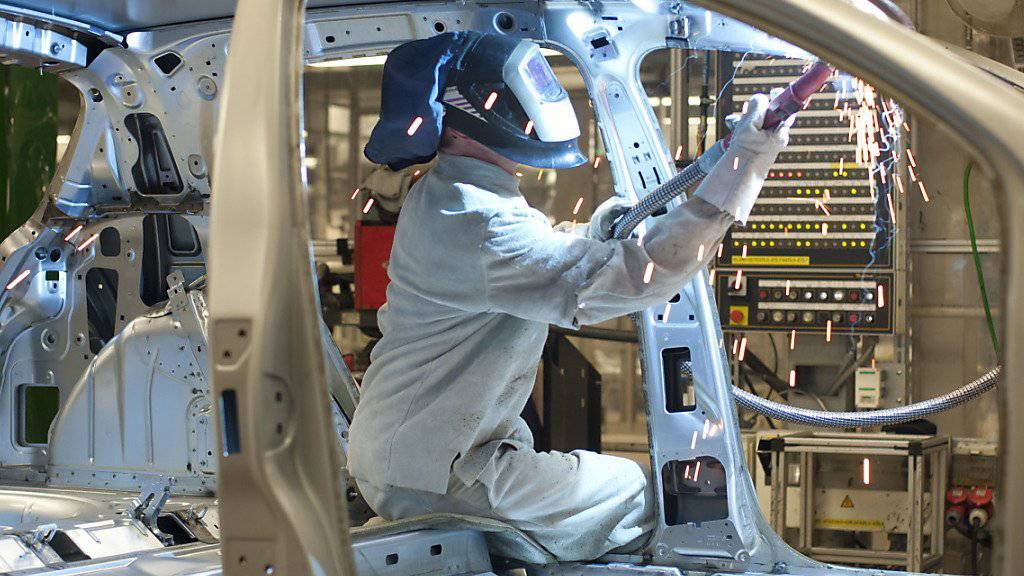 Die Probleme der deutschen Autoindustrie sind ein Grund für die konjunkturelle Abschwächung. (Archivbild)