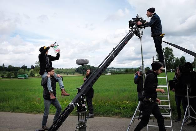 Auch bei einem Kurzfilm ist viel Equipment fürs Gelingen des Filmes nötig.