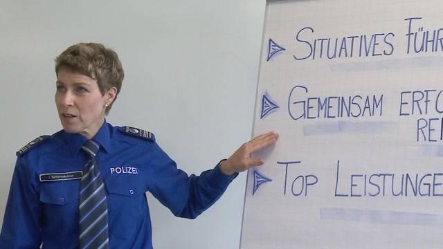 Neue Chefin für die Polizeischule