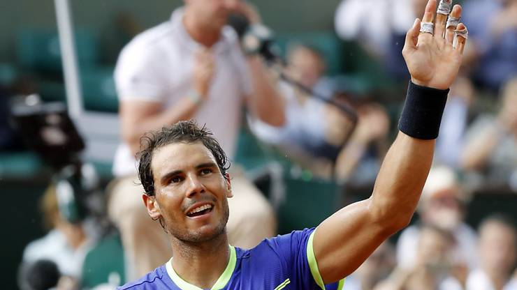 Rafael Nadal trifft im Halbfinal auf Djokovic-Bezwinger Dominic Thiem.