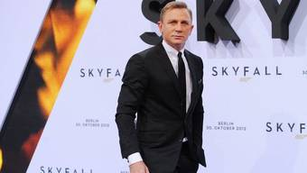 """Der britische Schauspieler Daniel Craig bei der Premiere von """"Skyfall"""" in Berlin (Archiv)"""