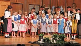 Die Mädchen des Chinderchörlis vom Passwang waren an diesem Abend die Stars.