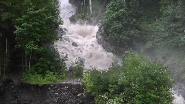 Hochwasser in Lenk