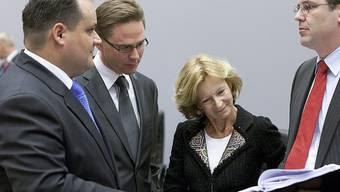 EU-Finanzminister beraten sich in Luxemburg