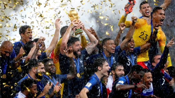 Goldregen für «Les Bleus» – Frankreich ist zum zweiten Mal nach 1998 Fussballweltmeister.